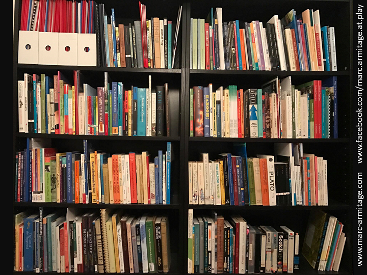 Eclectic Bookshelves