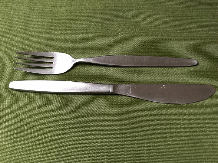 Knives, Forks and Strange Childhood Family Rituals