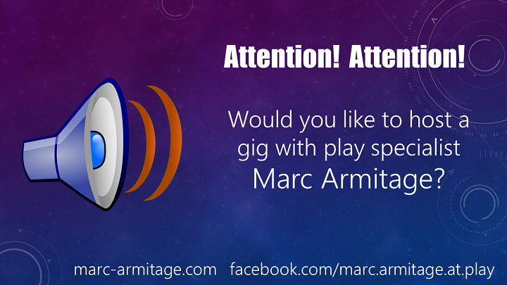 WOULD YOU LIKE TO HOST A GIG WITH MARC IN 2021?